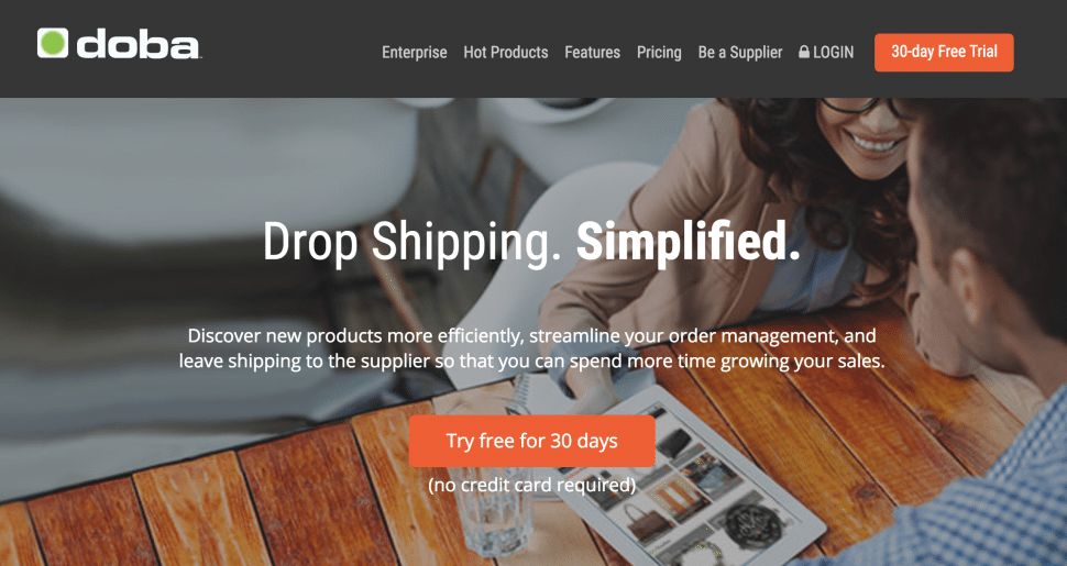 Doba - best dropshipping companies