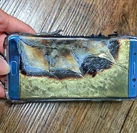 Samsung Note 7 - Biggest tech failures of 2016