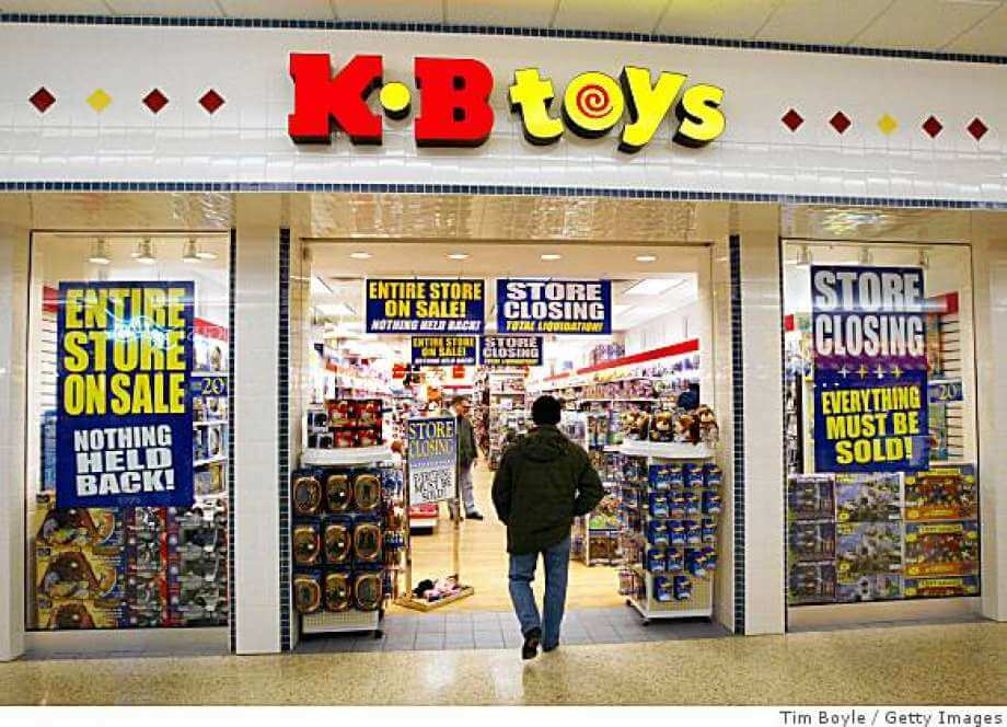 KB Store - 5 Retailers, that went Bankrupt