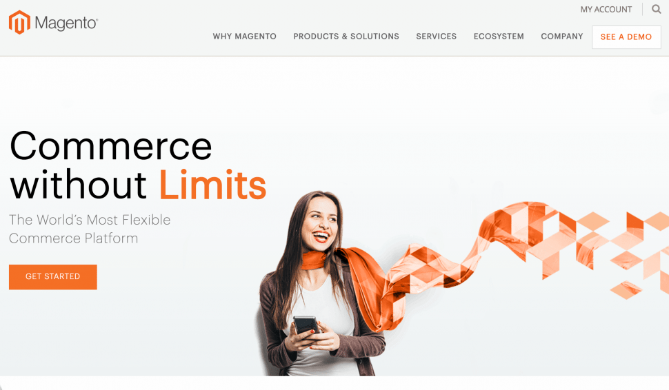 magento - eCommerce website store builder