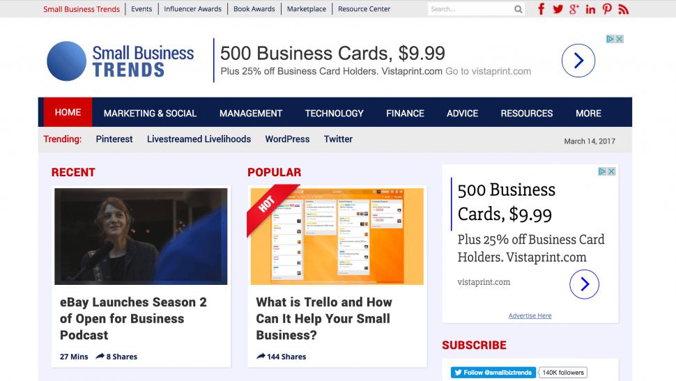 Small Biz Trends - Best Small Business Blog