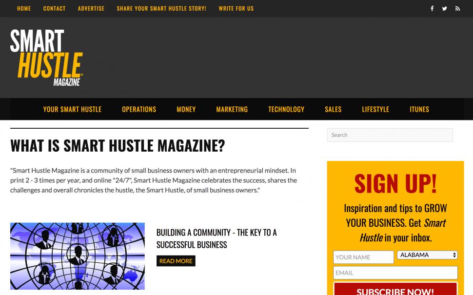 SmartHustle - Business Blog