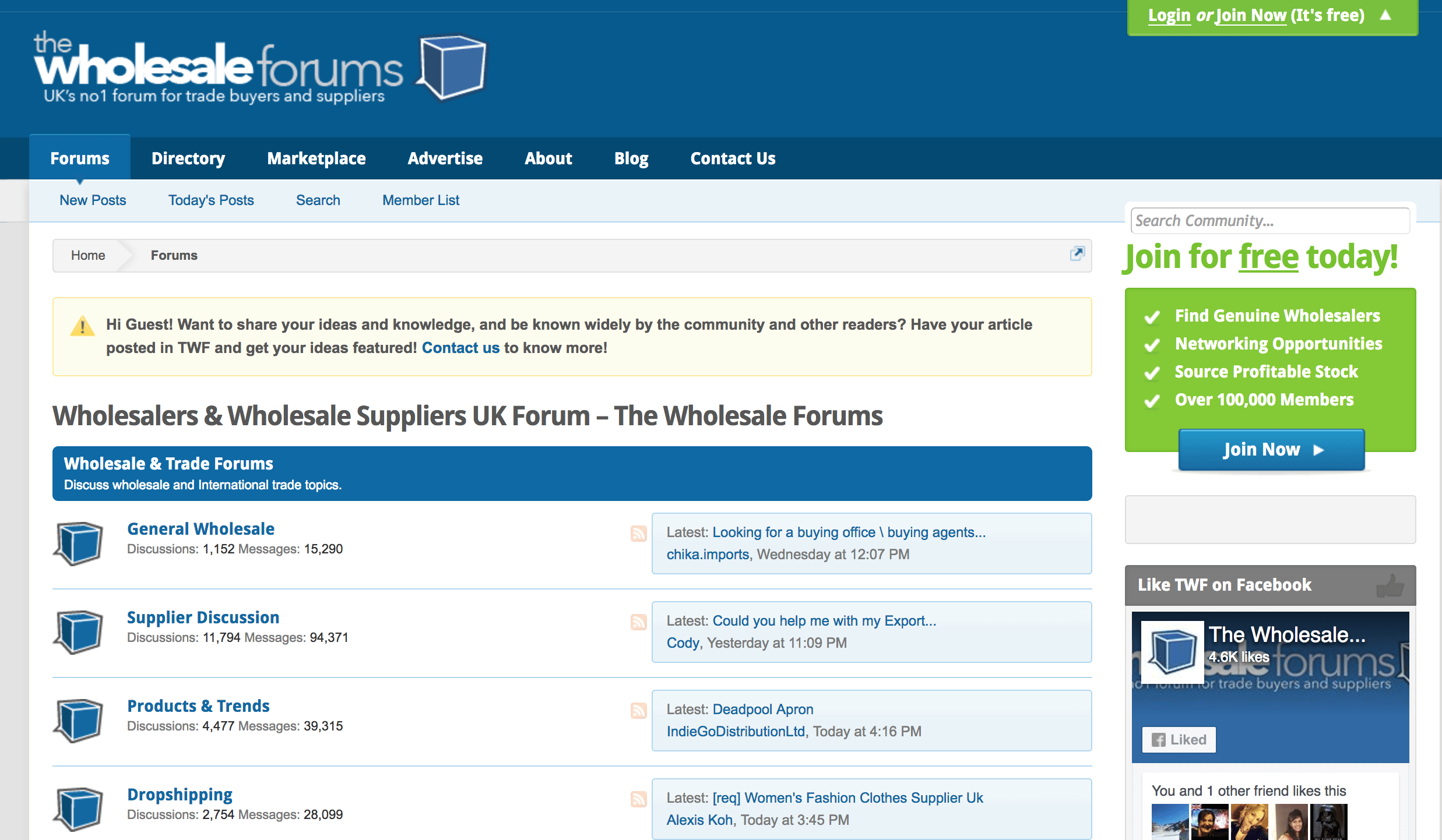 5 Forums Every Wholesalers Should Know | Wholesale Forums