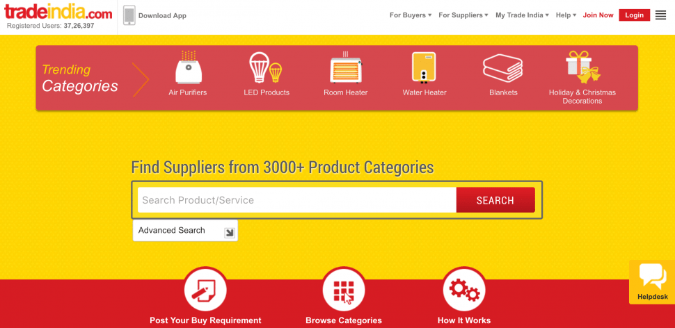 Trade India - b2b marketplace in India