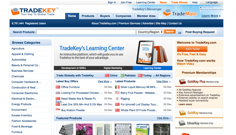 Tradekey - china b2b marketplace