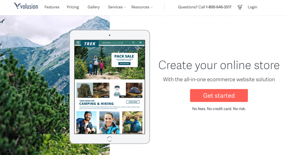 Volusion - store builders