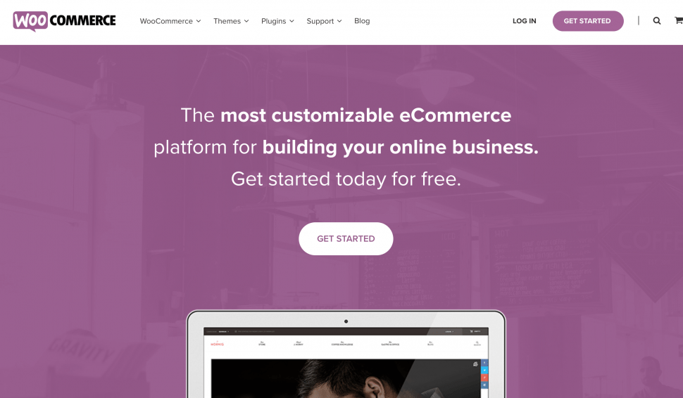 WooCommerce - best eCommerce store builders