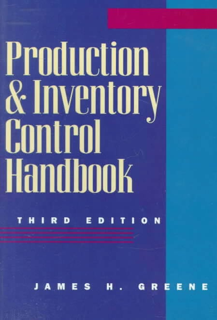 Production & Inventory Control Handbook