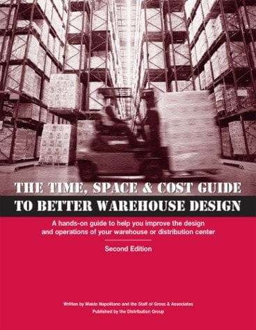 The Time, Space & Cost Guide to Better Warehouse Design - Inventory Management book