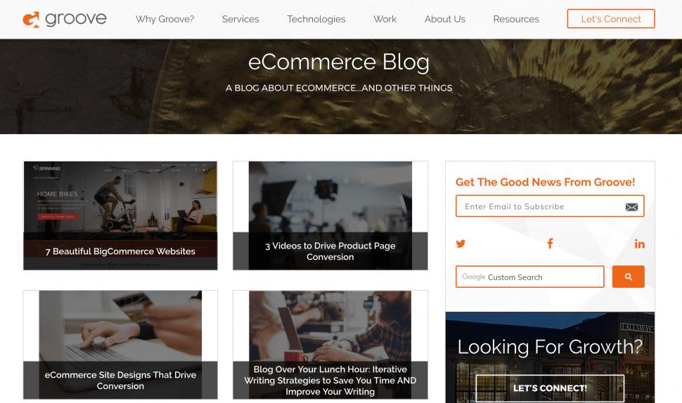 gotgroove eCommerce blog