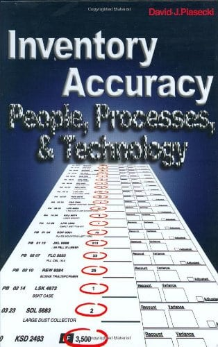 inventory accuracy - #6 inventory management book