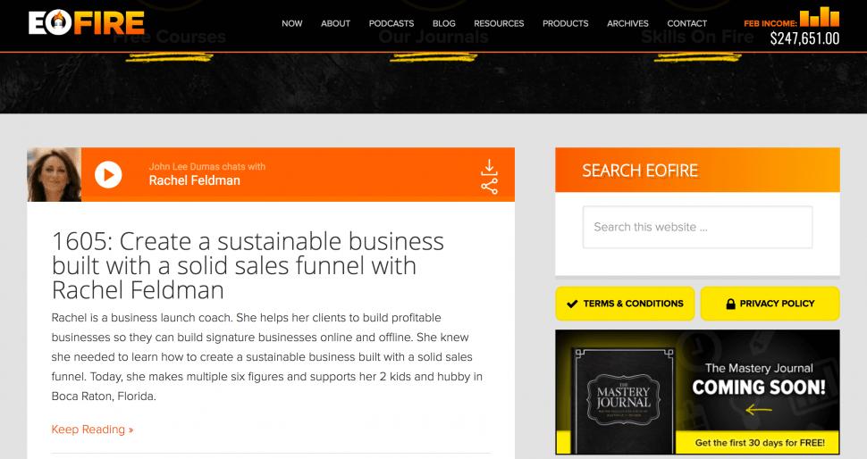 Entrepreneur on Fire - Entrepreneur Podcast