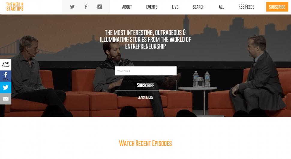 TWIST - This Week In Startups