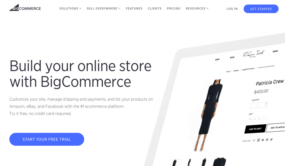 Big Commerce - Best eCommerce Solution for small business