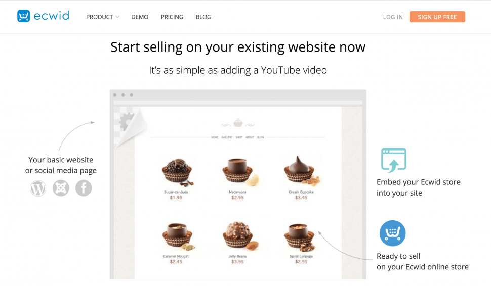 Ecwid - Best eCommerce Platform for small business owners