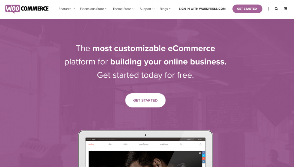 Woocommerce - eCommerce platform for small businesses