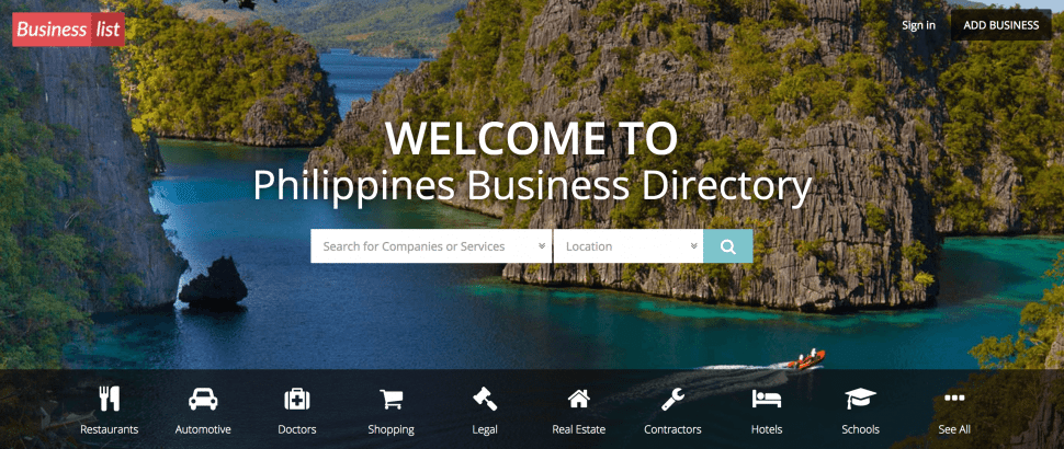 Business List - B2b sites in Philippines