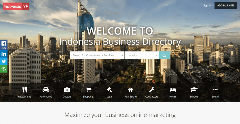 IndonesiaYP - B2B marketplaces in Indonesia