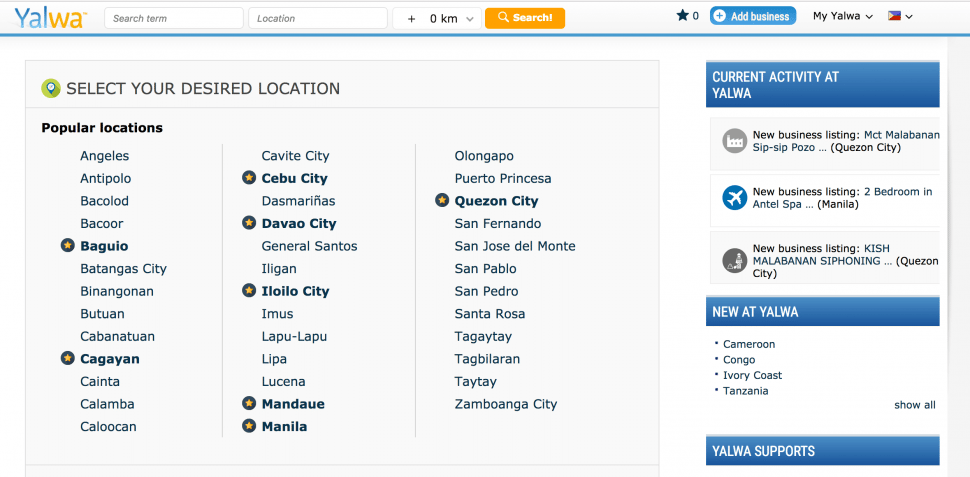 Yalwa - B2B Directories in Philippines
