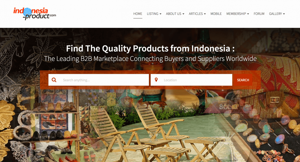 indonesia-product - B2B marketplaces in Indonesia