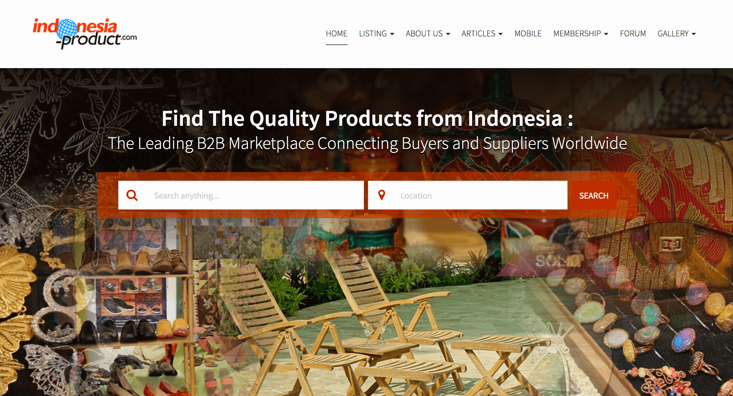 Top B2B Marketplaces in Indonesia - B2B sites for Import/ Export