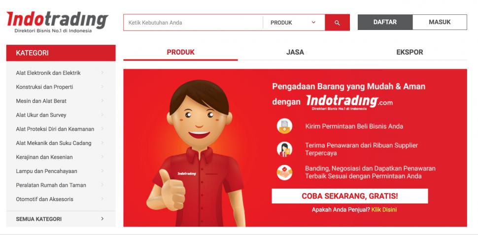 indotrading - Indonesian B2B marketplaces