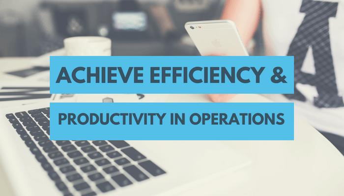 Achieve Productivity - Benefits of IMS