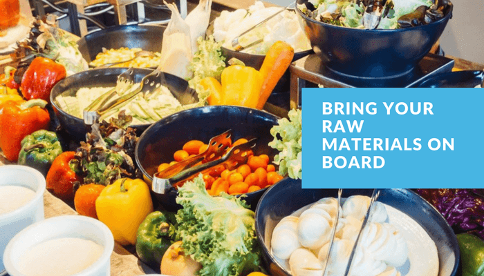 BRING YOUR RAW MATERIALS ON BOARD - Inventory Management Best Practices