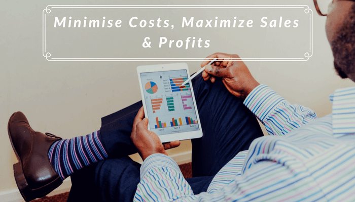 Minimise Costs, Maximise Sales & Profits - Benefits of Inventory Management