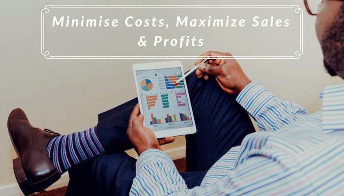 Minimise Costs, Maximise Sales & Profits - Benefits of Inventory Management