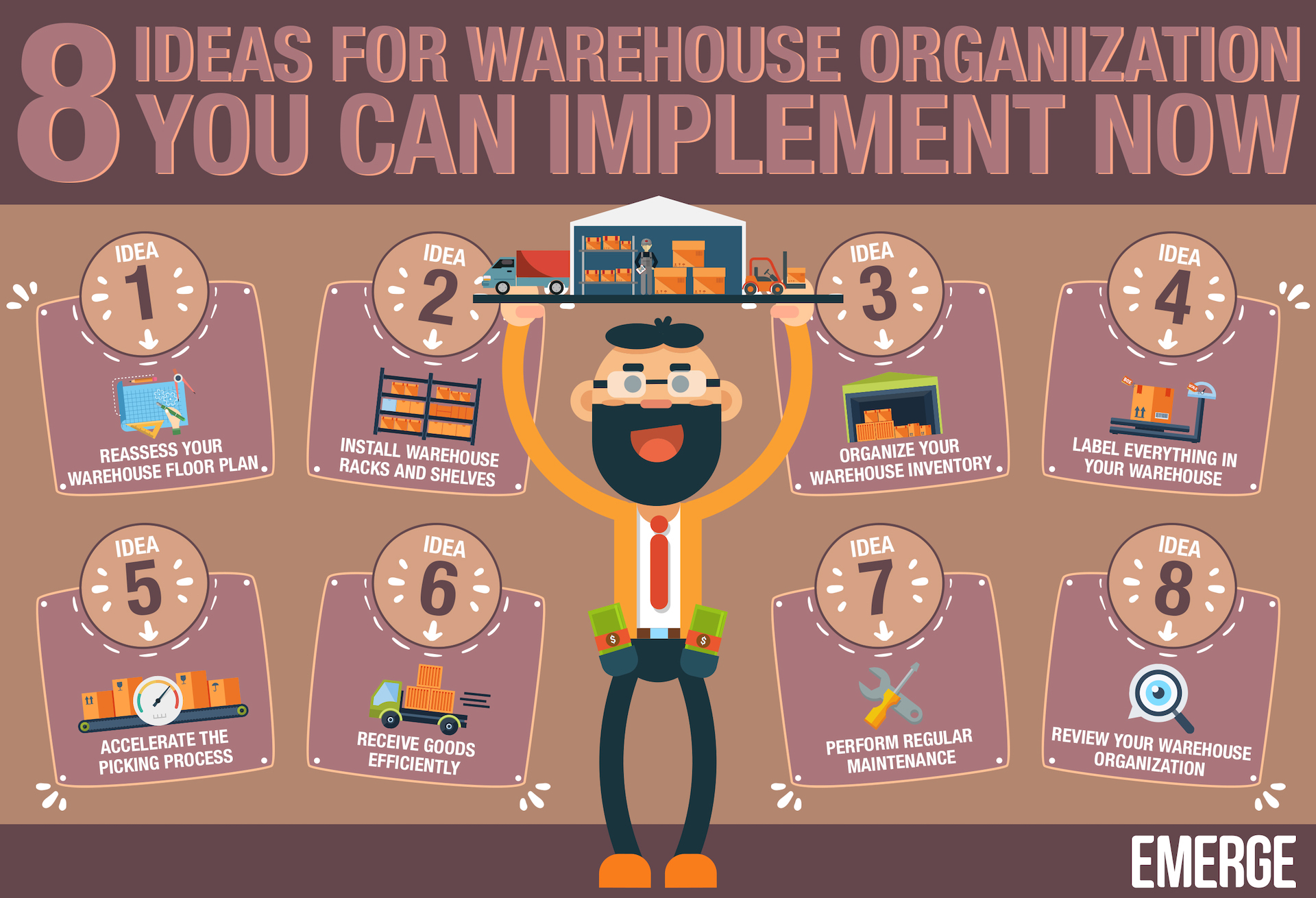 warehouse organization ideas