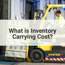 What is Inventory Carrying Cost?