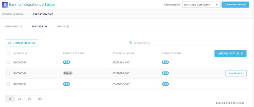 Stripe和EMERGE App库存管理软件